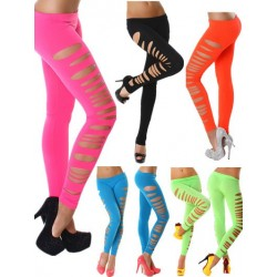 Legging rasgado lateral