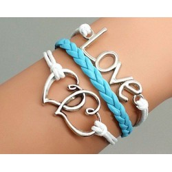 Pulsera love corazon