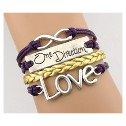 Pulsera infinito - one direction - love