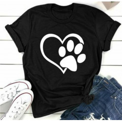 Camiseta casual animalista